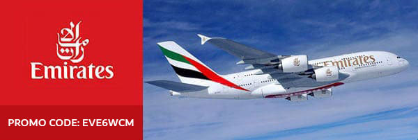 10% Discount on Emirates Airlines